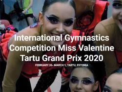 `Miss Valentine-2020`: Тартуский гимнастический турнир впервые получил высшую категорию