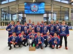 Хоккей. Эстонский любительский клуб «Нарва Старс» занял третье место на турнире в «Игоре»