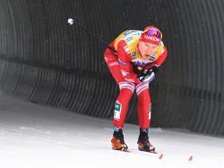 Лыжник Александр Большунов впервые в истории России выиграл мужской Кубок мира