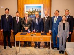 Между столицей России и американским Хьюстоном подписана программа сотрудничества