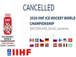 IIHF: Чемпионат мира по хоккею 2020 года - отменён из-за пандемии коронавируса