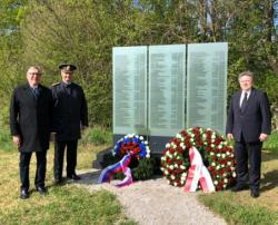 Посол России и бургомистр Вены возложили цветы к мемориалу советским военнопленным
