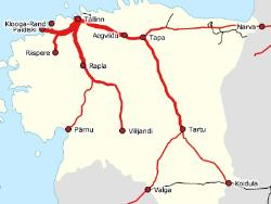 Самоуправления Эстонии предлагают спрямлением железных дорог увеличить скорость на них