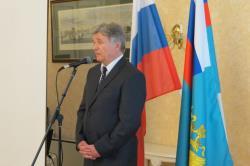 Посольство России провело встречу, посвящённую 40-летию олимпийской регаты в Таллине