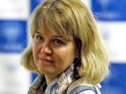 Оксана Йыэ - кандидат на пост министра образовании от НКО `Русская школа Эстонии`