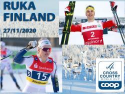 Лыжи. КМ-2020/21. Первые спринты сезона выиграли норвежец Эрик Вальнес и шведка Линн Сван