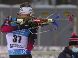 Биатлон. КМ-2020/21. Первую `индивидуалку` сезона выиграл норвежец Легрейд, Бё - второй