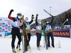 Биатлон. КМ-2020/21. После провала в Финляндии норвежки выиграли эстафету в Хохфильцене
