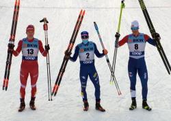 Лыжный спорт. Серебро в спринте Давоса вывело Александра Большунова в лидеры общего зачёта