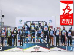 Биатлон. КМ-2020/21. Швеция выиграла мужскую эстафету в Хохфильцине, россияне - четвёртые