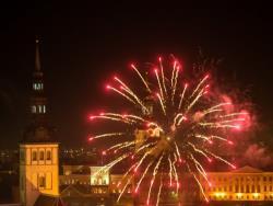 Центральный новогодний фейерверк в Таллине отменён, но будут салюты в спальных районах