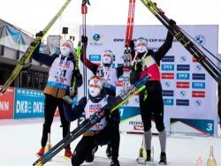 Биатлон. КМ-2020/21. Норвежцы заняли весь пьедестал во втором спринте Хохфильцена