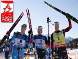 Биатлон. КМ-2020/21. Норвежец Легрейд сделал золотой дубль в австрийском Хохфильцене