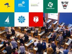 Только цифры: Центристская партия в 2020 году осталась самой многочисленной в Эстонии