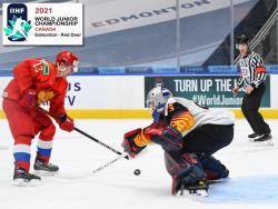 Хоккей. МЧМ-2021. Российская `молодёжка` прошла судей и Германию, впереди - судьи и Канада