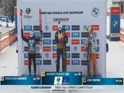 Биатлон. КМ-2020/21. Йоханнес Бё выиграл спринт 6-го этапа в Оберхоффе, Елисеев - 10-й