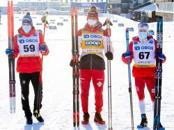 Лыжи. КМ 2020/21. Россиянин Александр Большунов выиграл первую гонку этапа в Фалуне