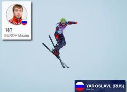 Фристайл. Максим Буров выиграл общий зачёт Кубка мира по лыжной акробатике сезона 2020/21