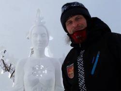 В таллинском парке Туви 6 февраля открывается выставка ледяных скульптур Карлиса Иле