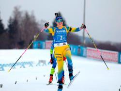 Биатлон. КМ-2020/21. Шведки выиграли последнюю женскую эстафету сезона и общий зачёт в ней