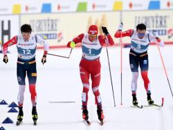 Лыжи. ЧМ-2021. Норвежский дуэт, ценой одной потери, лишил Большунова победы в марафоне