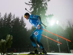Биатлон. КМ-2020/21. Француз Кентен Фийон Майе выиграл первую в карьере спринтерскую гонку