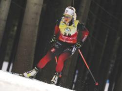 Биатлон. КМ-2020/21. Тириль Экхофф практически гарантировала себе победу в Кубке мира