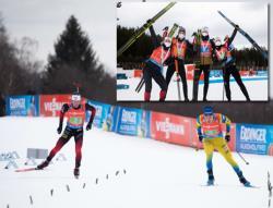 Биатлон. КМ-2020/21. Норвежцы и шведы - лучшие в последних смешанных эстафетах сезона
