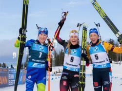 Биатлон. КМ-2020/21. Норвежка Тандревольд выиграла последний масс-старт, а Экхофф - сезон