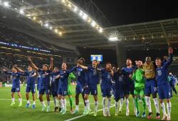 Футбол. Лига Чемпионов. `Челси` выиграл трофей, одолев в финале `Манчестер Сити`