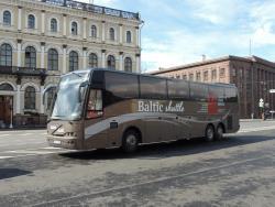 Автобусы Baltic Shuttle возвращаются на линию между Таллином и Санкт-Петербургом