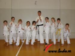 Спортклуб БУДО - самый титулованный представитель карате WKF в Эстонии