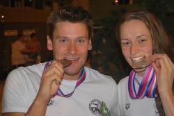 Брат и сестра Альянд - 3 медали чемпионата Европы на двоих!