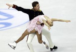 Фигурное катание. ЧЕ-2013. После короткой программы лидируют две российские пары танцоров