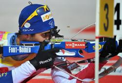 Биатлон. ЧМ-2013. Мартен Фуркад, выиграв индивидуальную гонку, приблизился к Кубку мира