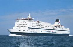 Паромы ST.PETER LINE открывают 22 февраля свой новый сезон на Балтике
