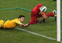 Футбол. ЧМ-2014. Отбор. Победа во Франции вывела испанцев на первое место в группе