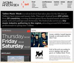 Tallinn Music Week-2013 ждёт гостей в различных местах города с 4 по 6 апреля