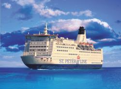 Компания ST.PETER LINE планирует увеличить пассажиропоток линии Петербург-Стокгольм на 30%