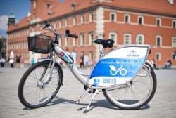 Варшава в три раза увеличила число пунктов проката велосипедов