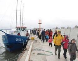 Открывается очередной сезон навигации между столицей Эстонии и островом Аэгна