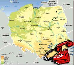 Туристические консультации по телефону в Польше летом можно получать до 22 часов