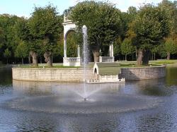 Таллинский парк Кадриорг 22 июля 2013 года отметил своё 295-летие