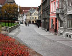 В Таллине сдана в эксплуатацию новая пешеходная зона в Старом городе