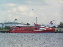 Штормовая погода на Балтике вынудила компанию Linda Line досрочно завершить навигацию