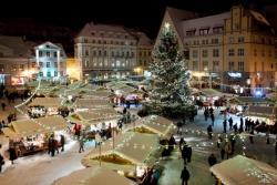 Традиционная рождественская ярмарка на Ратушной площади Таллина открывается 22 ноября