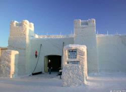 Снежный замок в финском Кеми зимой 2014 года будет посвящён местным морским легендам