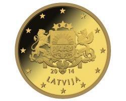 Латвия вошла в число стран, где национальной валютой является евро
