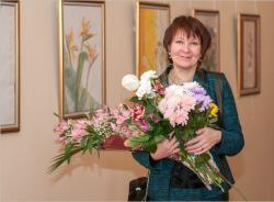 В Центре русской культуры до 15 февраля открыта выставка работ художницы Татьяны Сидоренко