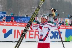 Сочи-2014. Лыжные гонки. Норвежка Марит Бьорген стала чытерыхратной олимпийской чемпионкой